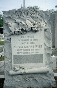 Thumbnail of Hebrew Rest Cemetery (New Orleans, La.): Wise