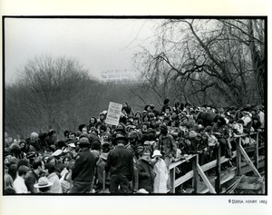 Thumbnail of Crowd on Concord Bridge during Bicentennial