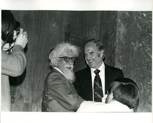 Thumbnail of Abraham Joshua Heschel and George McGovern