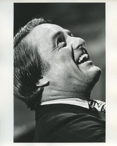 Thumbnail of Sargent Shriver looking up