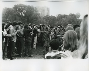 Thumbnail of Vietnam Veterans Against the War march on Boston Common