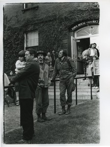 Thumbnail of Vietnam Veterans Against the War demonstration, district court office