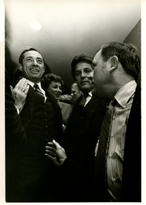 Thumbnail of Mario Cuomo and wife at victory party