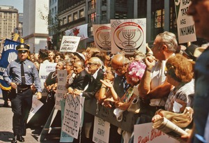 Thumbnail of Policeman at rally for Soviet Jewry