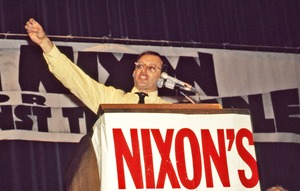 Thumbnail of Allard Lowenstein at an Impeach Nixon rally
