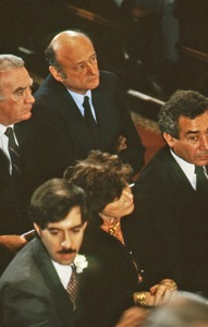 Thumbnail of Political figures at the funeral of Allard Lowenstein