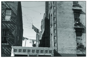 Thumbnail of Clotheslines in New York City neighborhood