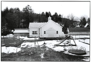 Thumbnail of Playground behind one-room school in Ulster County