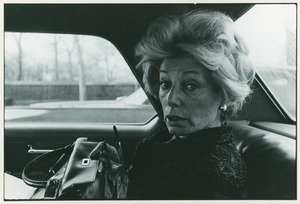 Thumbnail of Edith Henry in taxi