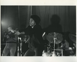 Thumbnail of James Brown performing on Rikers Island