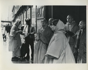Thumbnail of Hare Krishnas on the street in New York City