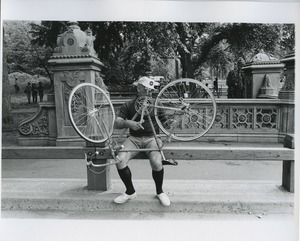 Thumbnail of Bicyclist in Central Park