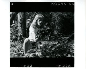 Thumbnail of Woman and plants
