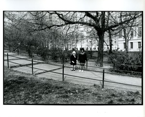 Thumbnail of Two women in Central Park