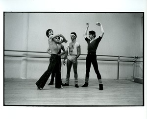 Thumbnail of Dancers rehearse