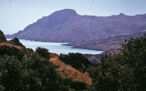 Thumbnail of Shore and mountains