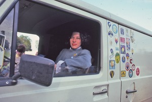 Thumbnail of Fran Lebowitz at the Forbes balloon meet