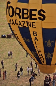 Thumbnail of Forbes Magazine balloon