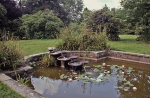 Thumbnail of Flow form with water lilies