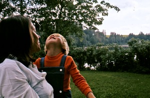 Thumbnail of Birgitta Mathiesen with her son