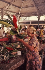 Thumbnail of Martinique flower stall