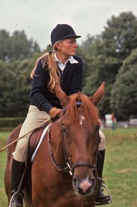 Thumbnail of Female cross-country rider