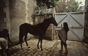 Thumbnail of Trainer with her horse