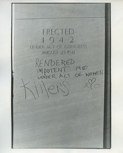 Thumbnail of Graffiti on Pentagon