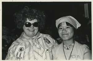 Thumbnail of California delegates Alice Bibeau and Colleen Wong