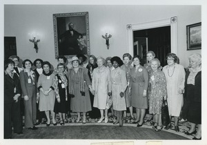 Thumbnail of Members of the National Commission at White House