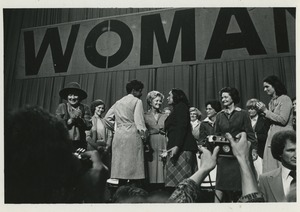 Thumbnail of Women on stage
