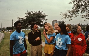 Thumbnail of Michele Cearcy, Billie Jean King, Peggy Kokernot, Sylvia Ortiz, and Betty Friedan