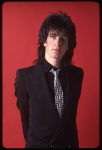 Thumbnail of The Cars, photo shoot for Candy-O: Elliot Easton