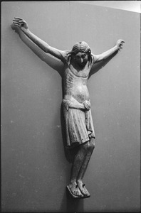 Thumbnail of Museum of Fine Arts: sculpture entitled Crucified Christ on display
