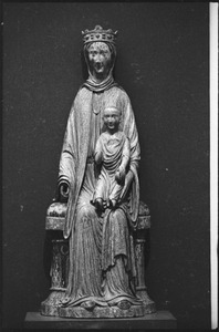 Thumbnail of Museum of Fine Arts: medieval sculpture titled Virgin and Child