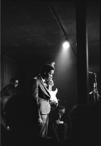 Thumbnail of Buddy Guy and his Bluesband at Club 47: Buddy Guy with guitar