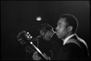 Thumbnail of Muddy Waters Blues Band at the Boston Tea Party: Luther 'Georgia Boy' Johnson, Sammy Lawhorn in foreground