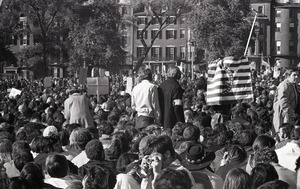 Thumbnail of Moratorium to End the War in Vietnam: demonstrators on Boston Common