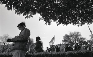 Thumbnail of Moratorium to End the War in Vietnam: group marching