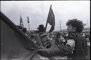 Thumbnail of Antiwar demonstration at Fort Dix, N.J.