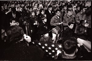 Thumbnail of Young Americans for Freedom pro-Vietnam War demonstration, Boston Common