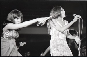 Thumbnail of Ike and Tina Turner Revue at the Boston Arena: Tina Turner performing with the Ikettes