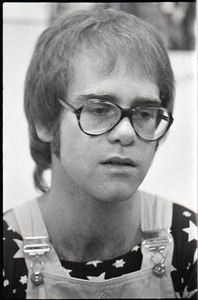 Thumbnail of Elton John backstage and performing at the Boston Tea Party: Elton John