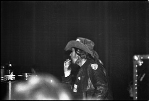 Thumbnail of Grateful Dead performing at the Music Hall: Ron 'pigpen' McKernan smoking a cigarette onstage