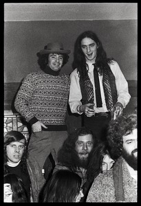 Thumbnail of Joe Spadafora (left) with James Montgomery, at the opening of Club Zircon