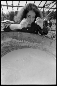 Thumbnail of Preparing a communal meal, Earth People's Park