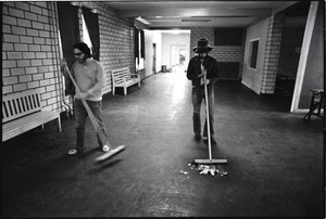 Thumbnail of Middlesex House of Correction and Jail: Prisoners sweeping common area