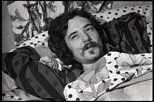 Thumbnail of Holy Modal Rounders at home: Robin Remaily in bed