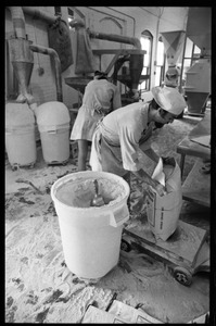 Thumbnail of Flour grinding milling at Erewhon natural food store