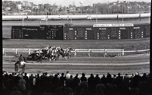 Thumbnail of Horse race at Suffolk Downs